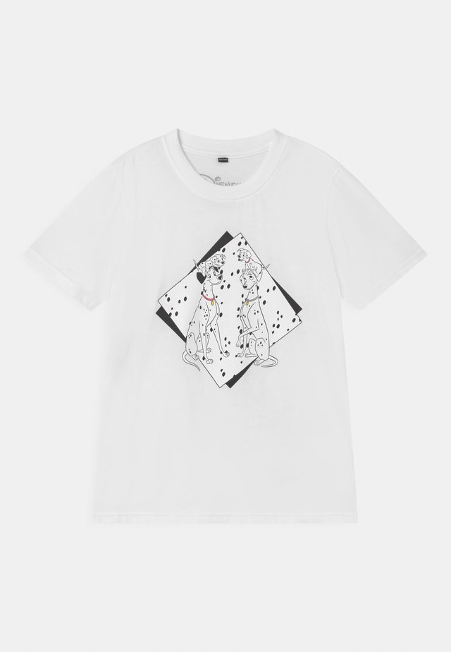 101 DALMATINER TEE UNISEX - Print T-shirt - white