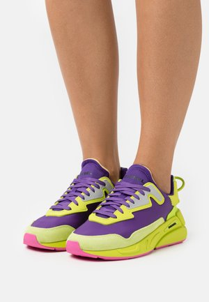 SERENDIPITY - Sneakers laag - yellow/purple