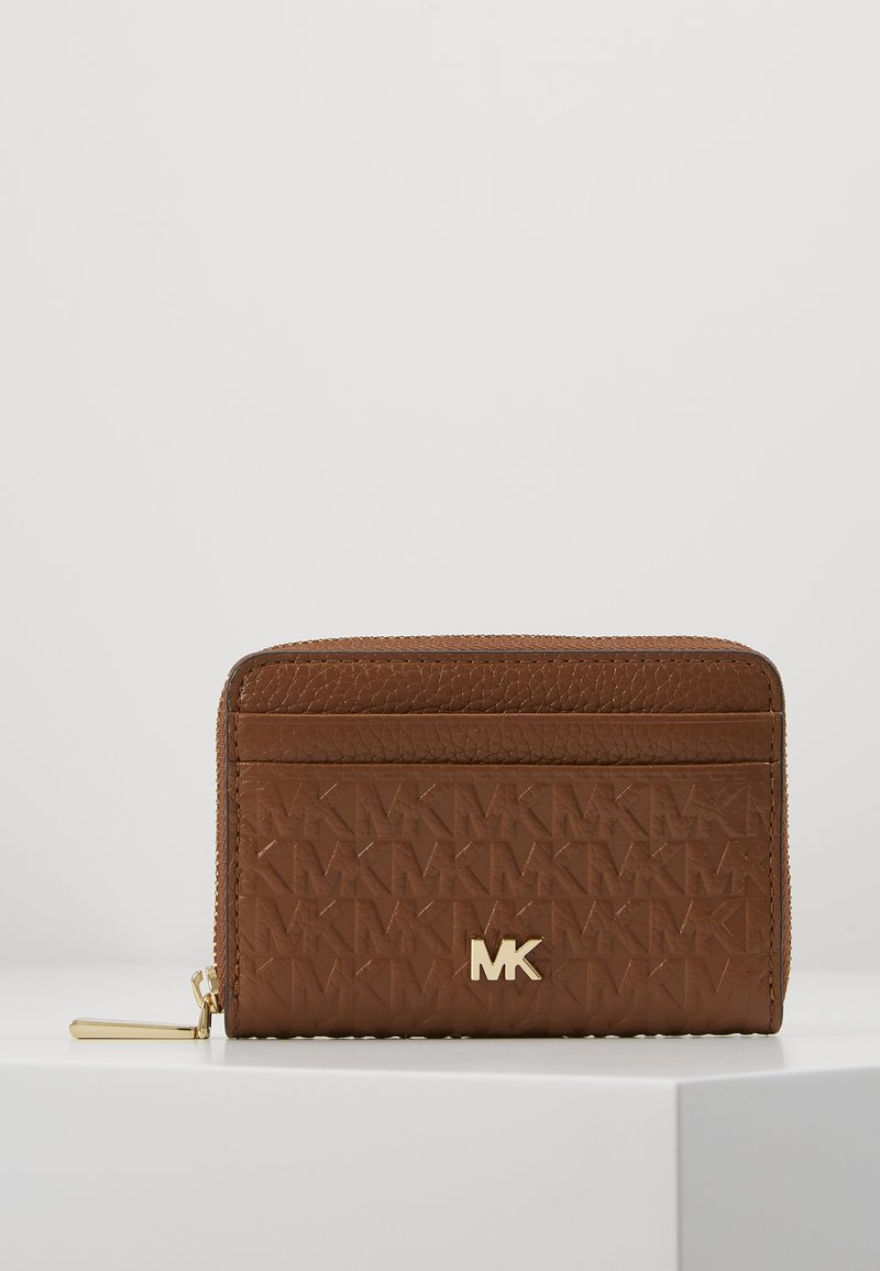 MICHAEL Michael Kors - MOTTZA COIN CARD CASE - Peněženka - luggage