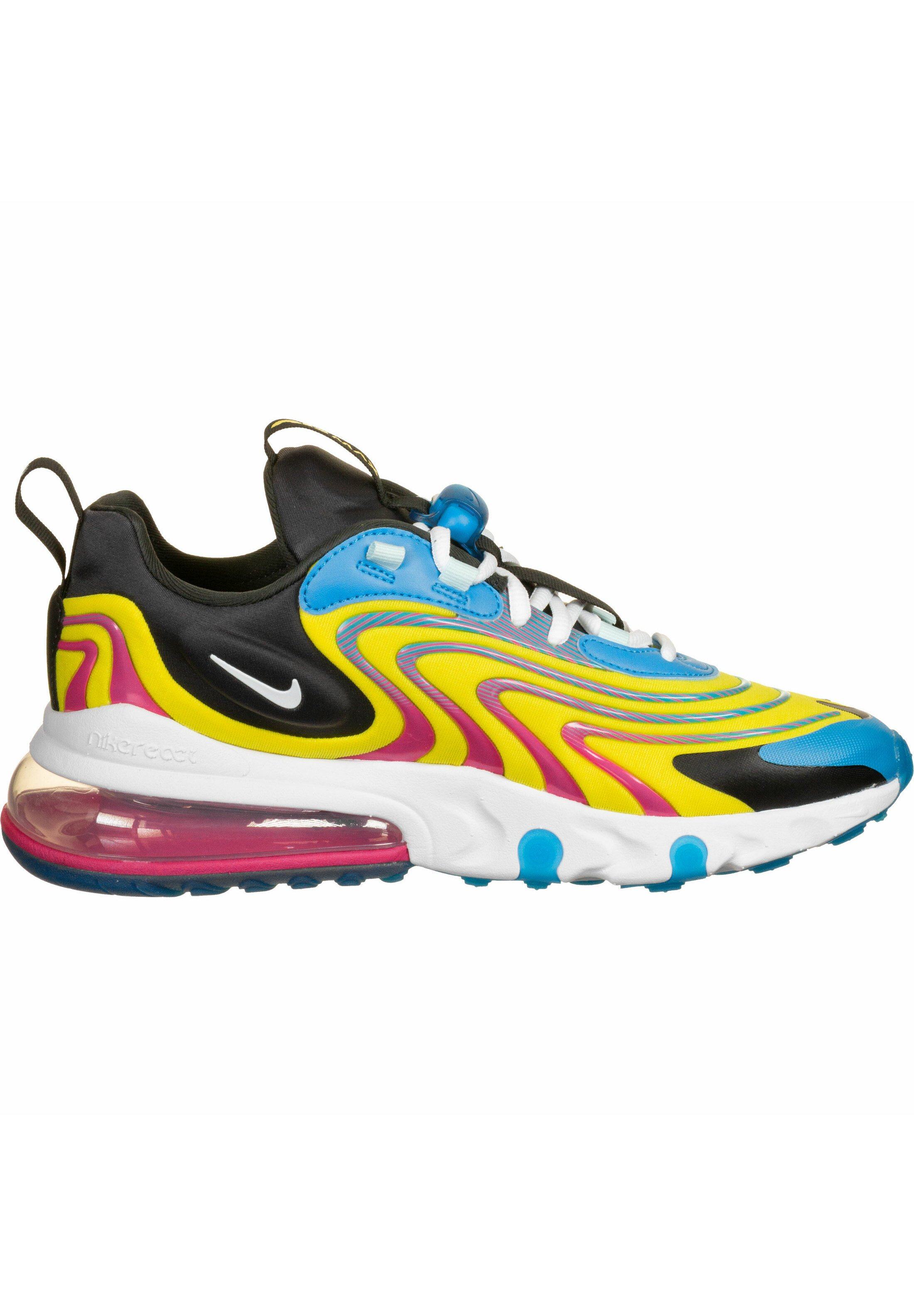 Nike Sportswear SCHUHE AIR MAX 270 REACT - Sneaker low - laser blue/white/anthracite/mint - Herrenschuhe cymGq