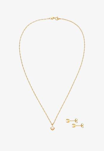 JEWELRY SET EARRING & NECKLACE - Earrings - gold