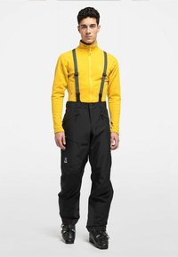 Haglöfs - LUMI LOOSE PANT - Snow pants - true black - 0