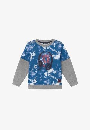 KIDS TIE DYE MUSIC HEADPHONES - Sweatshirt - ocean