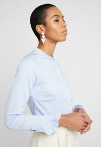 Mos Mosh - MATTIE  - Button-down blouse - light blue - 3