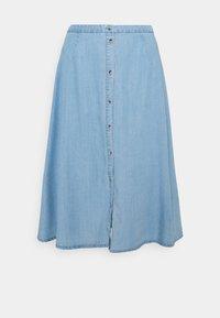 Vero Moda - VMVIVIANA CALF SKIRT - Denim skirt - light blue denim - 0