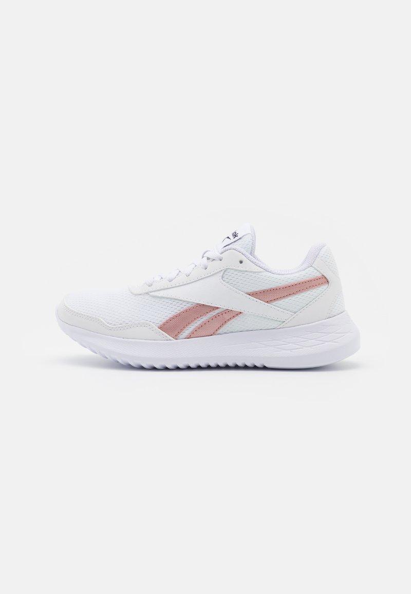 Reebok - ENERGEN LITE - Neutral running shoes - footwear white/blush metal/core black