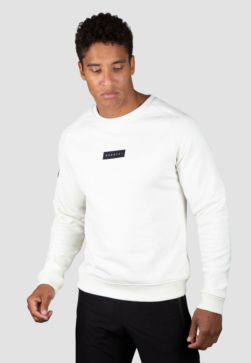 MOROTAI - Sweatshirt - cremeweiß