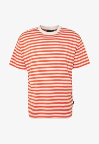 Kickers Classics - HORIZONAL STRIPE TEE - T-shirt z nadrukiem - orange - 0