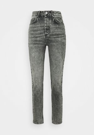 PCSCARLETT - Relaxed fit jeans - grey denim