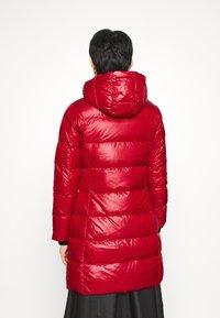 Calvin Klein - ESSENTIAL REAL COAT - Down coat - tango red - 6