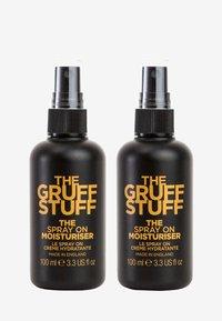 The Gruff Stuff - THE SPRAY ON MOISTURISER DUO - Skincare set - - - 0