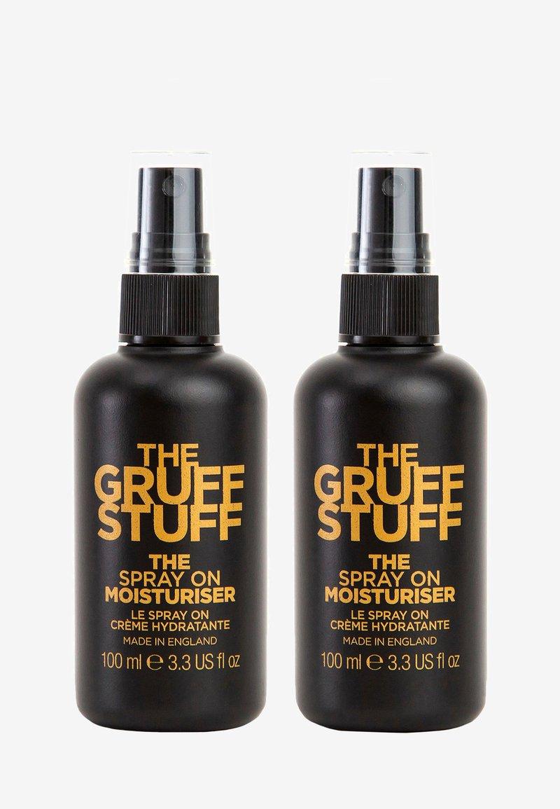 The Gruff Stuff - THE SPRAY ON MOISTURISER DUO - Skincare set - -