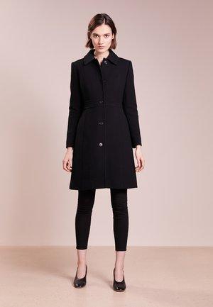 LADY DAY COAT DOUBLE - Classic coat - black