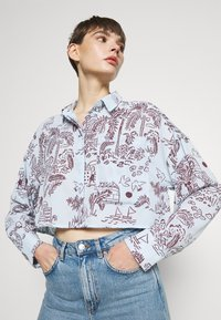 Monki - Button-down blouse - summerinfrance - 4