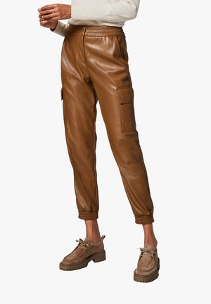 Cargo trousers - olive brown