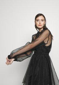 Custommade - VIRA DRESS - Koktejlové šaty/ šaty na párty - anthracite black - 3