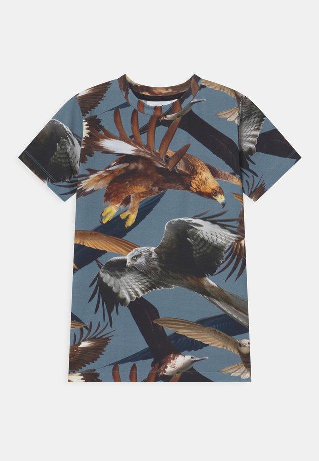RALPHIE - T-shirt med print - blue