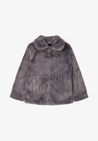 Name it - Winter jacket - plum kitten - 0