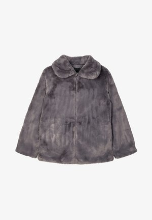 Winter jacket - plum kitten