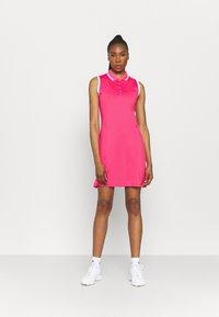 Callaway - GOLF DRESS WITH TIPPING - Sports dress - raspberry sorbet - 1