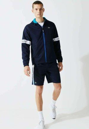 Light jacket - navy blau / türkis / weiß / blau