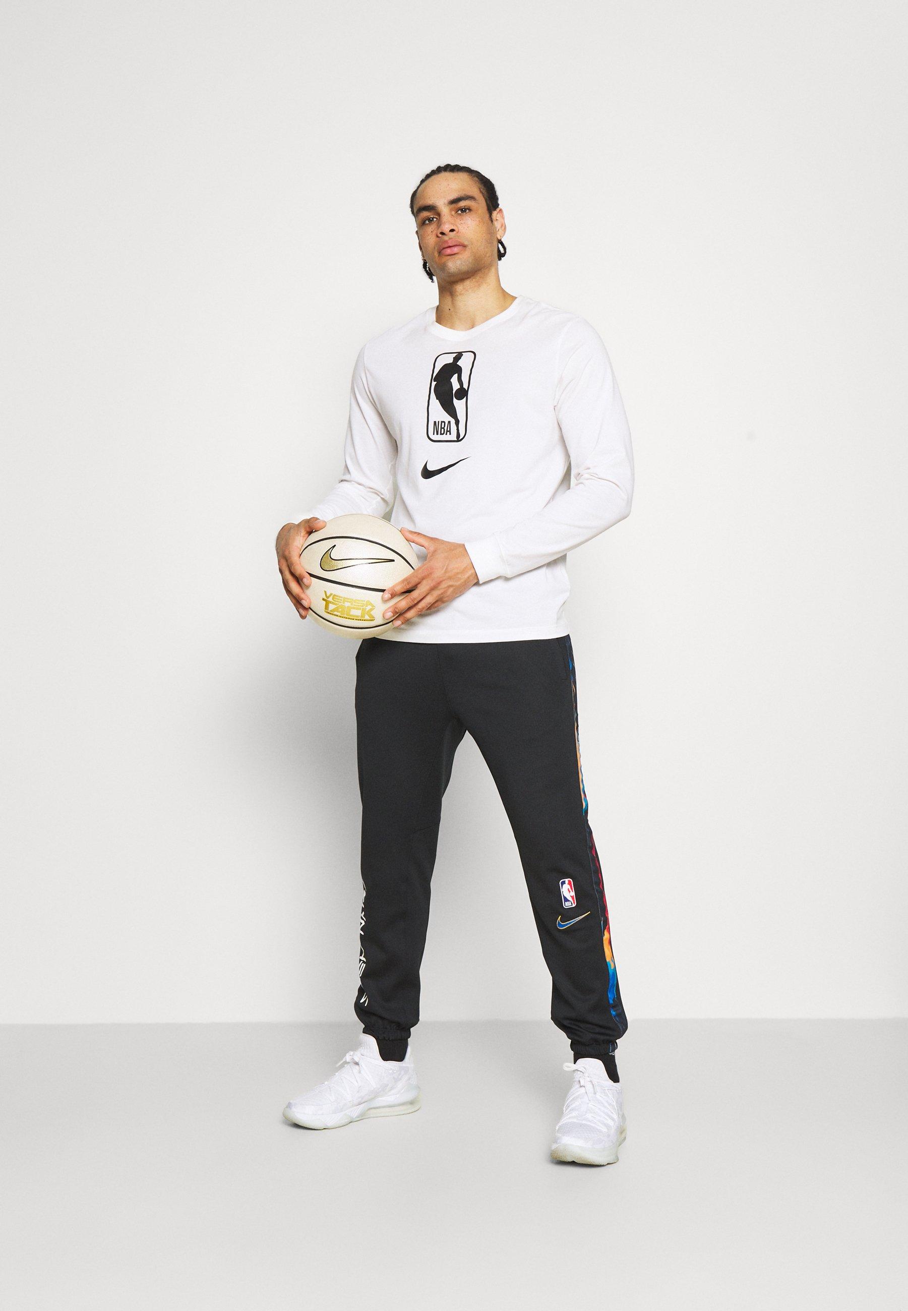 Men NBA BROOKLYN NETS CITY EDITON THERMAFLEX PANT - Tracksuit bottoms