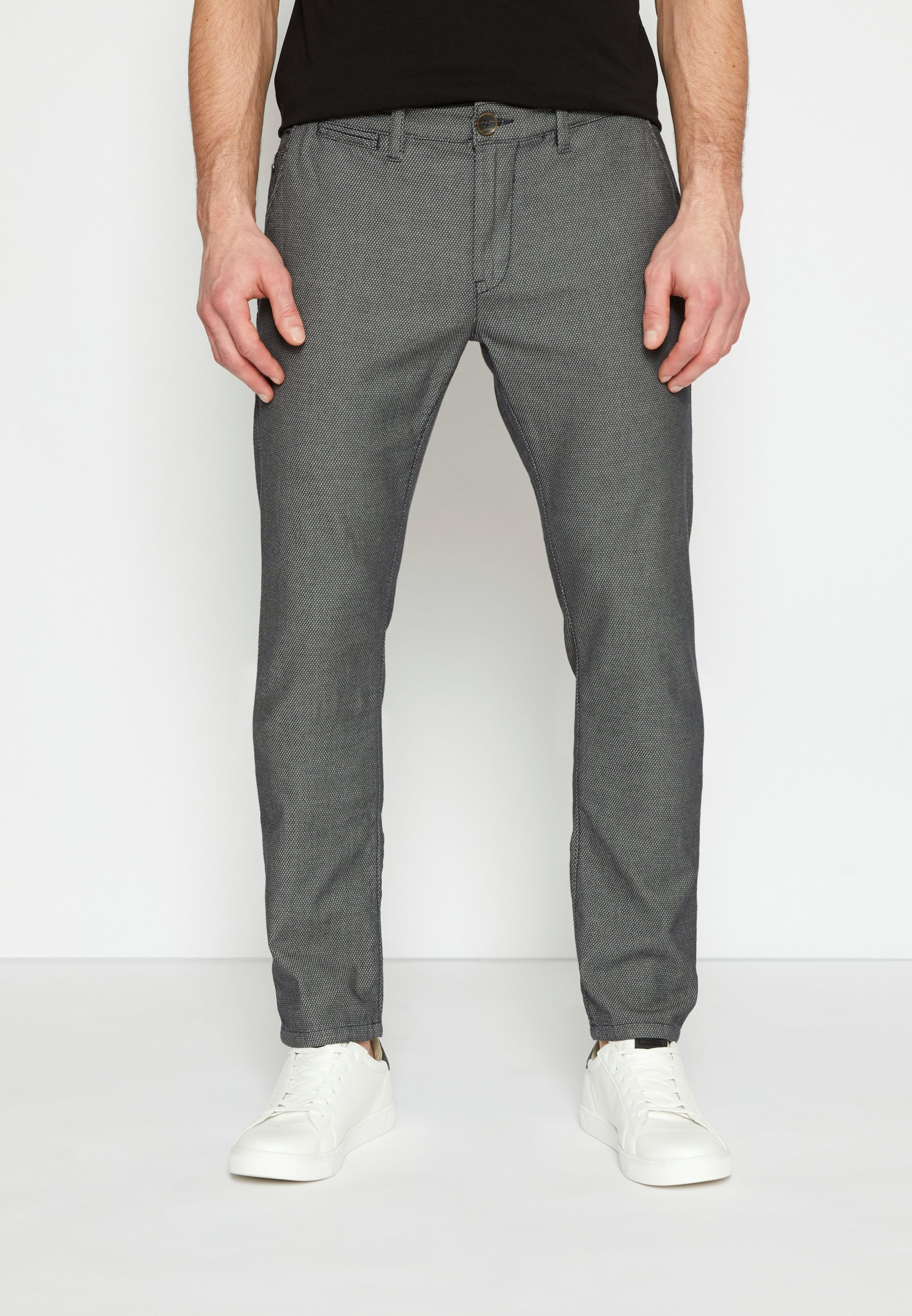 Homme STRUCTURE - Chino - black/white