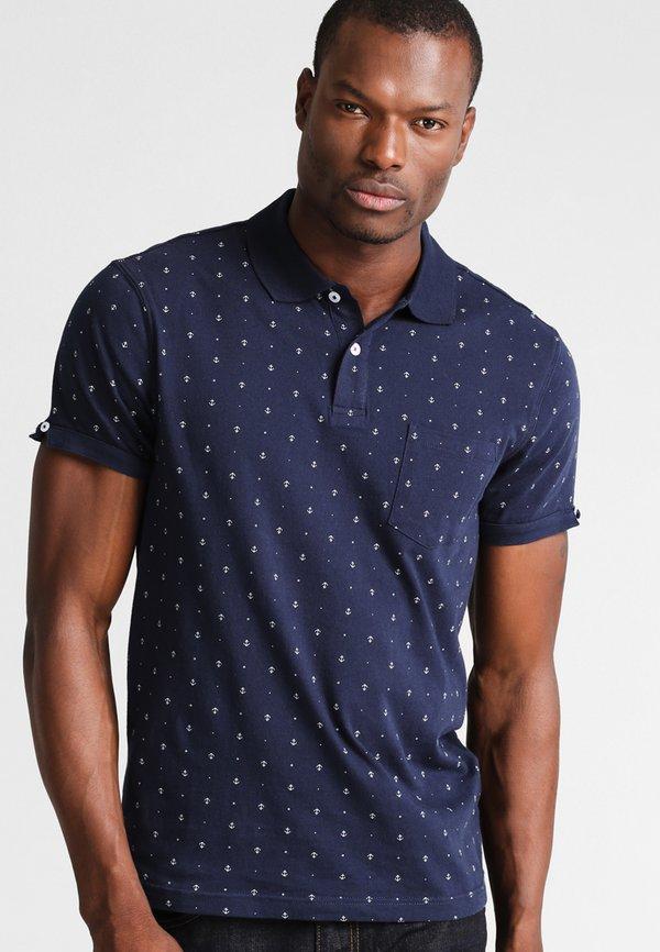Pier One Koszulka polo - dark blue/granatowy Odzież Męska ZJEX