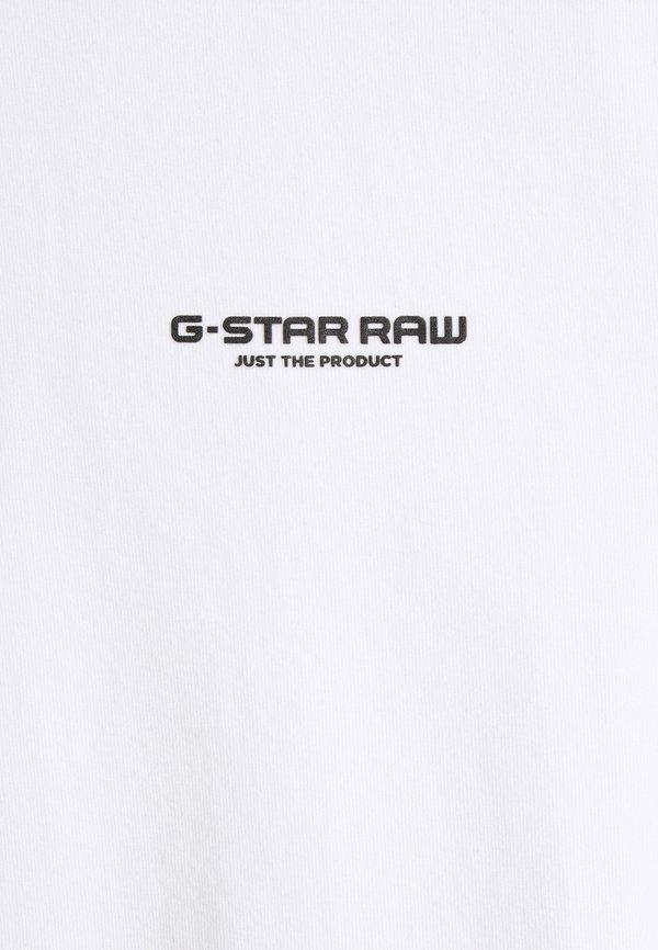 G-Star SLIM BASE R T - T-shirt basic - white/biały Odzież Męska OBZI