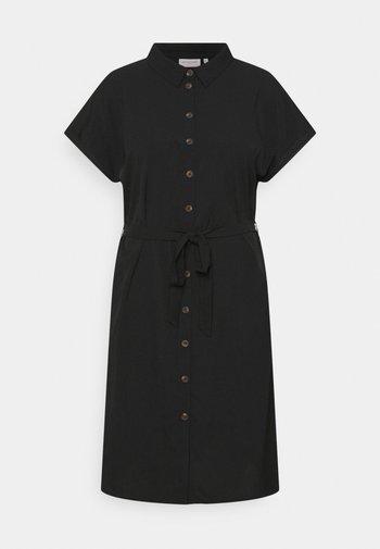 CARDIEGA DRESS - Shirt dress - black