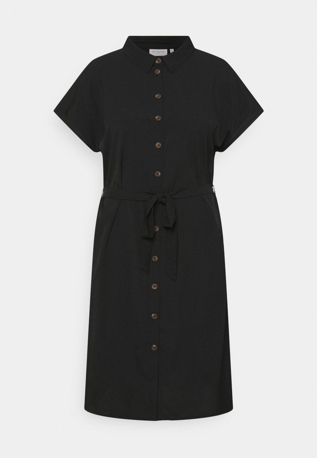 CARDIEGA DRESS - Shirt dress - black