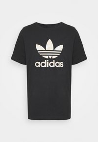 adidas Originals - CAMO INFILL TEE UNISEX - T-shirt print - black/alumina/multicolor - 3