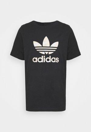 CAMO INFILL TEE UNISEX - Print T-shirt - black/alumina/multicolor