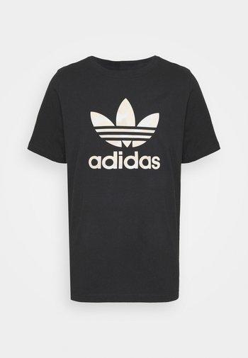 CAMO INFILL TEE UNISEX - T-shirt print - black/alumina/multicolor