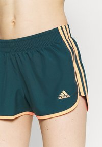 adidas Performance - M20 SHORT - Pantaloncini sportivi - wild teal/screaming orange - 3