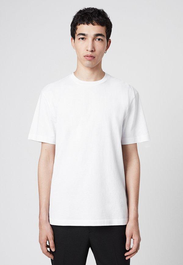 AllSaints MUSICA - T-shirt basic - off-white/mleczny Odzież Męska FCOQ
