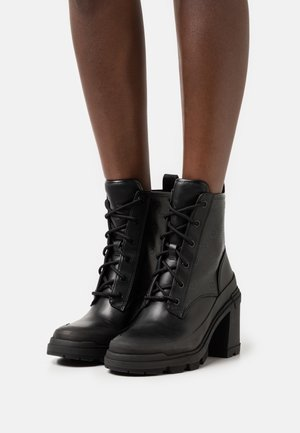 RENCA - Lace-up ankle boots - black