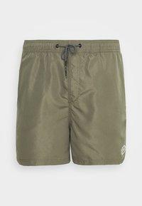 JJIBALI JJSWIM SOLID - Swimming shorts - dusty olive