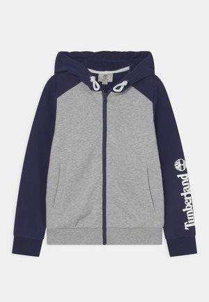 Zip-up sweatshirt - chine grey