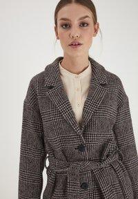 ICHI - IHHOLLYN - Classic coat - crushed violets - 3