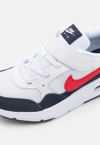 Nike Sportswear - AIR MAX SC UNISEX - Sneakers laag - white/univeristy red/obsidian - 5
