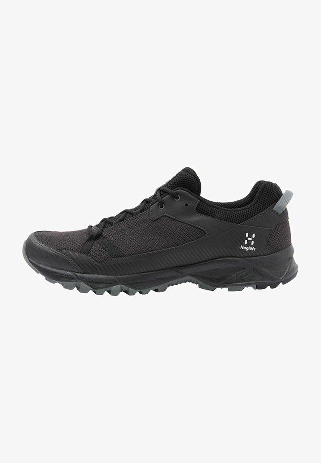 TRAIL FUSE - Hiking shoes - slate/true black