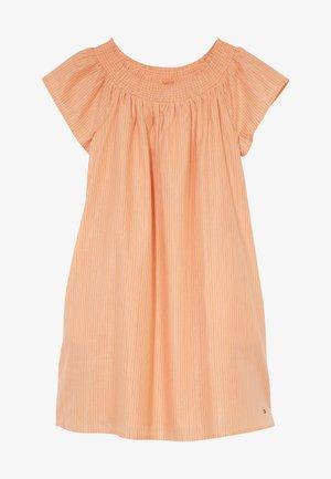 STRIPE DRESS - Robe d'été - orange