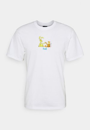 BEST FRIENDS TEE - Triko s potiskem - white
