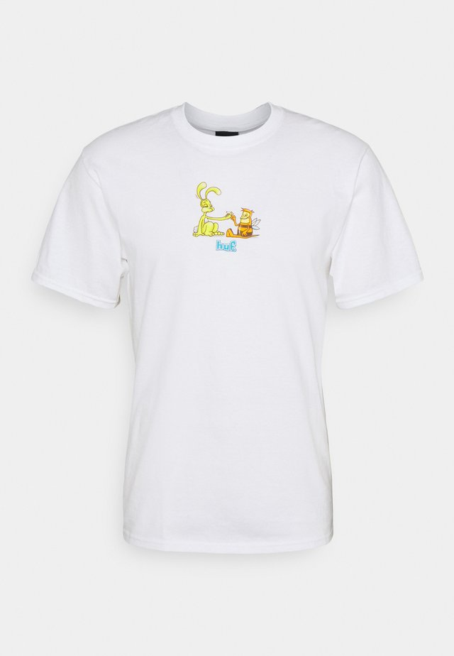 BEST FRIENDS TEE - T-shirt med print - white