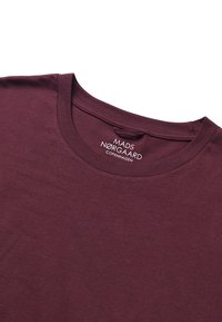 Mads Nørgaard - FAVORITE THOR - Basic T-shirt - mottled red