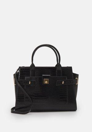 SANTROPEZ CROC TOTE BAG - Handbag - black