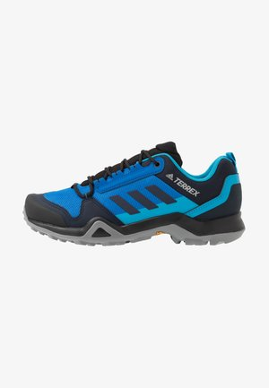 TERREX AX3 - Hiking shoes - glow blue/legend ink/shock cyan