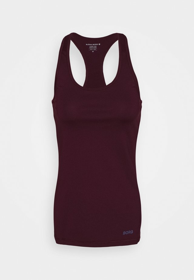 RACERBACK TANK - Sports shirt - winetasting
