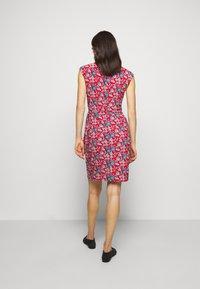 Lauren Ralph Lauren - PRINTED MATTE DRESS - Žerzejové šaty - red/blue/multi - 2